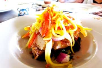 Crispy Pork Binagoongan from Amorita Resort Bohol Philippines