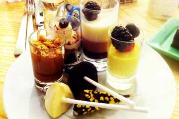 All You Can Desserts from Bacchanal Buffet Caesars Palace