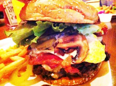 Double Angus Beef Burger from YumBurger