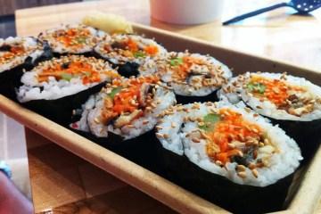 Eel Custom Roll from Oh Fish