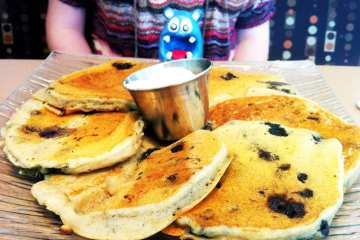 Gluten Free Blueberry Pancakes from Origicanl Pancake House