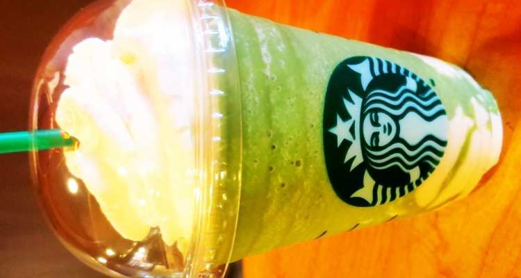 Green Tea White Chocolate Pudding Frappuccino from Starbucks Philippines