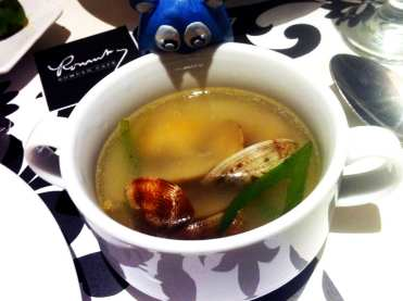 Halaan Soup from Romulo Cafe Manila Philippines