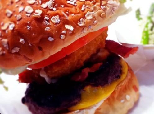 K Onion Burger from Kraze Burgers