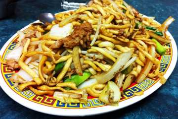 Lo Mein from Chinatown Express
