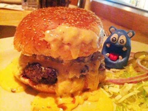 Mac & Cheese Burger from Cheesecake Factory