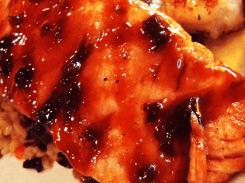 Maple Glazed Salmon & Shrimp from Red Lobster