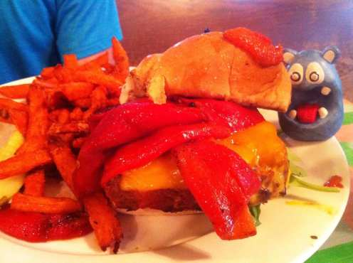 Meatloaf Sandwich from Papermoon Diner