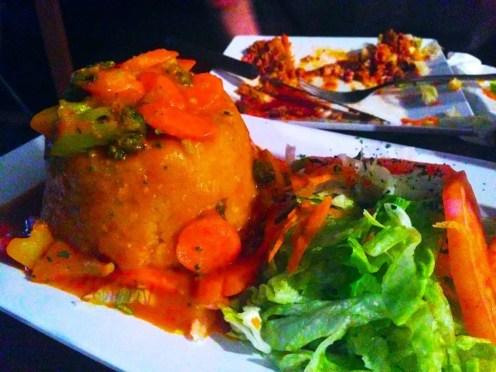Mofongos Rellenos Bacalao from Cafe Del Angel San Juan Puerto Rico
