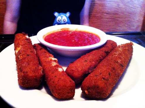 Mozzarella Sticks from Coins Pub Ocean City