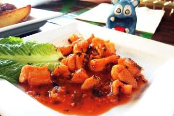 Piri Piri Chicken from Piratz Tavern