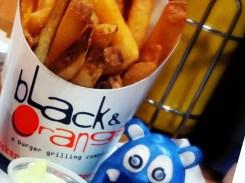 Rogue State Burger from Black & Orange