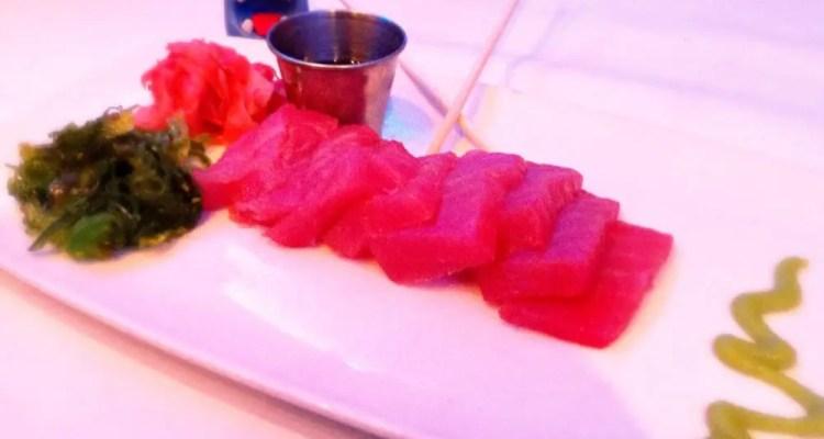 Sesame Crusted Hawaiian Big Eye Tuna from Oceanaire Seafood Room