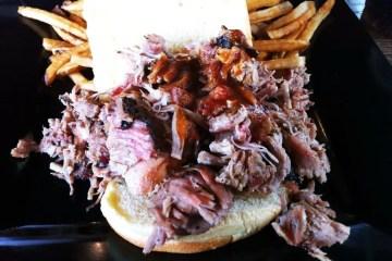 Sliced Pork Sandwich from Rocklands BBQ