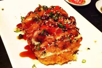 Sticky Balls Sushi from Sticky Rice