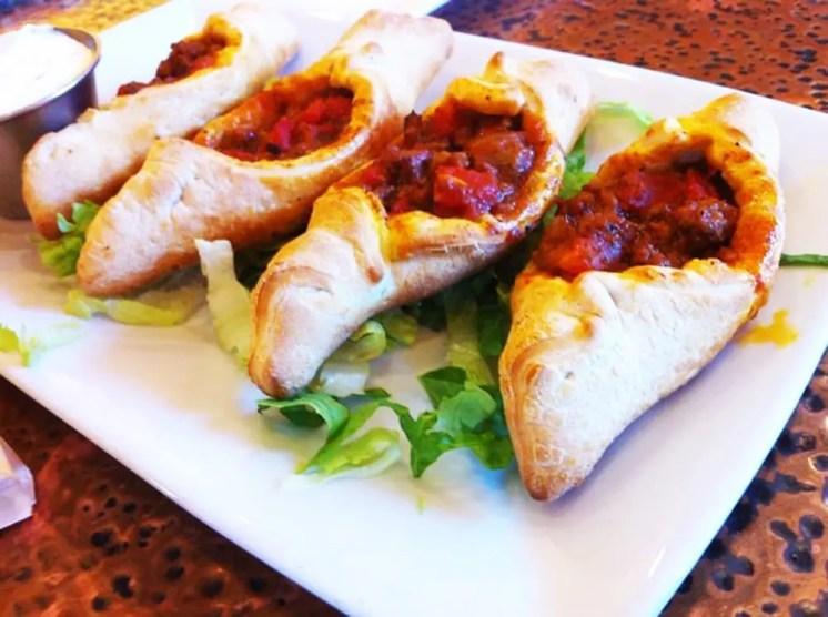 Turkish Pizza from Mediterranean Grill