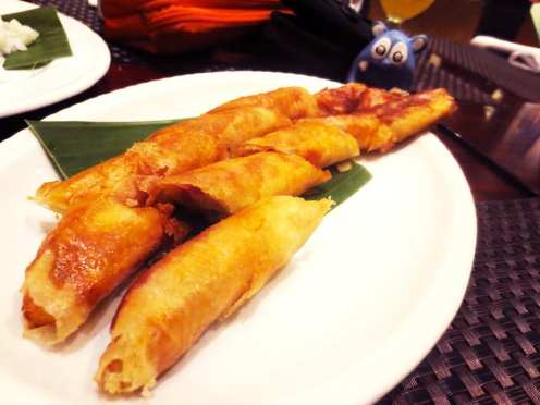 Turon with Nangka at Ube from Abe Manila Philippines