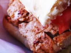 Vegan MLB Club Sandwich from My Little Bistro