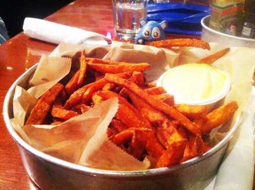Yam Fries from Seva