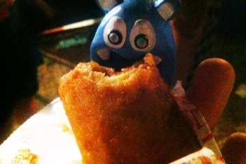 Deep Fried Cheesecake from Fiesta Oyster Bake