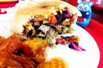 Turkey Shawarma from Pita Hut