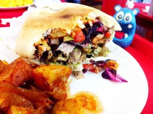 Turkey Shawarma from Pita Hut