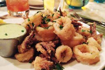 Buttermilk Fried Calamari from 8407 Kitchen Bar