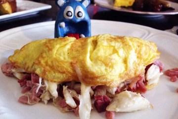 Brunch Omelet from Mrs. K's Silver Spring