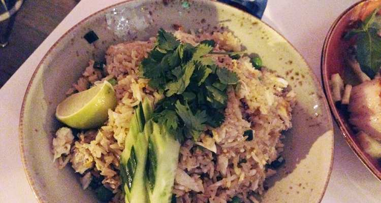 Blue Crab Fried Rice @ Doi Moi DC