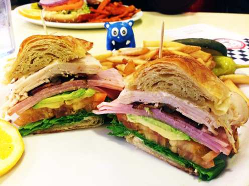 California Club Sandwich @ Lori's Diner San Francisco