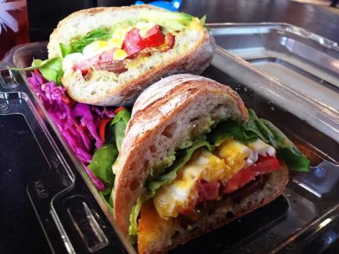 Eggy Blat Sandwich $11 @ Parlor 1255 San Francisco