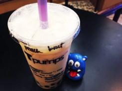Honey Bobo Peach Bubble Tea @ Tpumps San Francisco