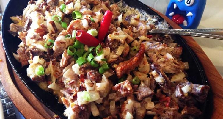 Sizzling Pork Sisig $15 @ Patio Filipino San Francisco