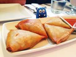 Samosas $10 @ Rangoon Ruby San Francisco