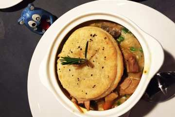 Chicken Pot Pie $15 @ Sligo Cafe Silver Spring
