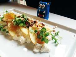 Courtland Apple Ricotta $13 @ Kafe Leopold Georgtown