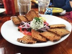 Smoked Wild Salmon $16 @ Nepenthe Big Sur CA