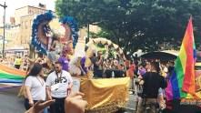 Float at Capital Gay Pride 2015