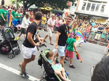 Hot Dads at Capital Gay Pride 2015