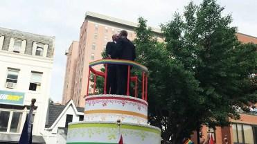 Hilton Float at Capital Gay Pride 2015