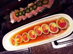 Curi Maki Sushi Roll $14 @ Cho Oishi Los Angeles California