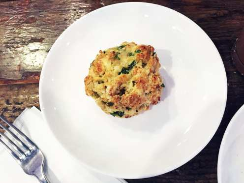 Feta Scallion Scone $4 @ Intelligentsia Coffee Shop Los Angeles California