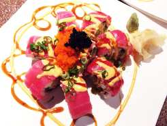 Sex on the Moon Sushi Roll $13 @ Cho Oishi Los Angeles California