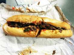 Cheesesteak $10 @ Spataro's Cheesesteaks in Philadelphia