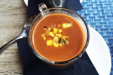 Lobster Bisque @ All Set for Restaurant Week in Silver Spring
