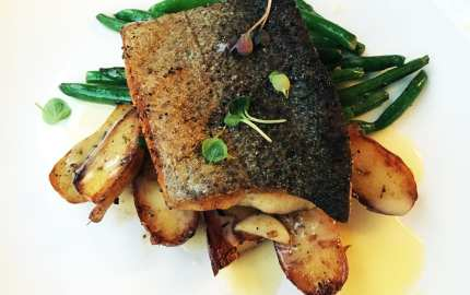 Trout Meuniere @ All Set for Restaurant Week in Silver Spring