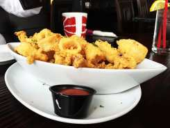 Calamari Appetizer $12 @ Godfather's Burger Lounge in Belmont California