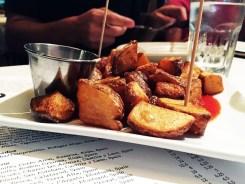 Patatas Bravos Tapas $7 @ Barcelona Wine Bar in Reston Virginia