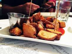 Patatas Bravos Tapas $7 @ Barcelona Wine Bar in Reston Virginia