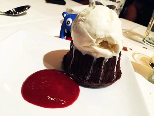 Chocolate Hazelnut Indulgence $7 @ Barcelona Wine Bar in Reston